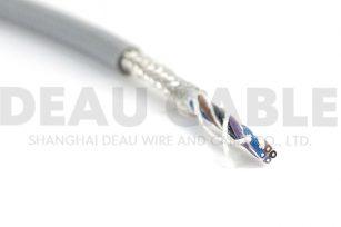 DKF810 4×0.3高柔性耐磨屏蔽拖链电缆