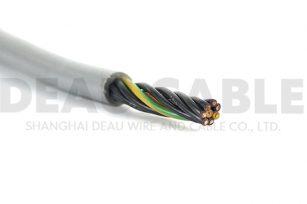 DKF820 7×0.5高柔性耐弯曲耐磨拖链电缆