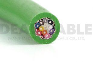 DKF830 5x2x0.2高柔性抗拉双绞屏蔽拖链电缆