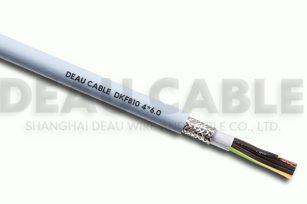 高度柔性屏蔽多芯电缆 DKF810  4*6.0
