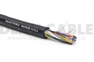 高度柔性多芯电缆 DKF820 12*0.3
