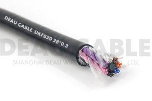高度柔性多芯电缆 DKF820  28*0.3
