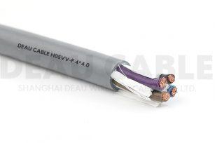 欧标多芯护套线 H05VV-F   4*4.0
