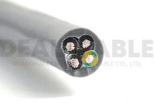 欧标多芯护套线 H05VV-F  4*2.5