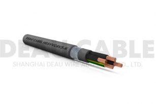 欧标双护套屏蔽软电缆 H05VVC4V5-K   6*2.5