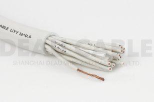 欧标柔性数据电缆 LIYY  16*0.5