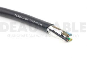 欧标柔性数据电缆 LIYY   4*0.75