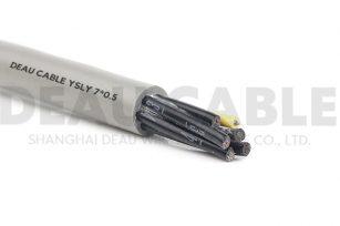 耐油欧标软电缆YSLY   7*0.5