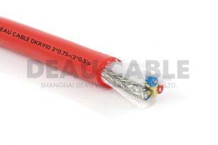 DKR910 2*0.75+(2*0.3)P 屏蔽型机器人电缆