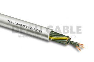 H05VV5-F 12*0.5 耐油电缆