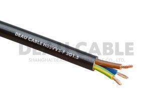 H05VV5-F 3*1.5 耐油电缆