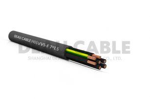H05VV5-F 7*1.5 耐油电缆
