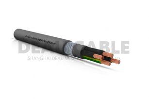 H05VVC4V5-K 4*2.5 双护套屏蔽耐油控制电缆