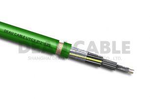 LiYCY(TP) 7*2*0.25 双绞屏蔽数据电缆