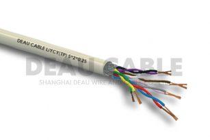 LiYCY(TP) 5*2*0.25 双绞屏蔽数据电缆