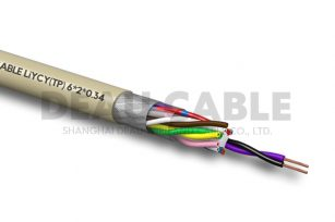 LiYCY(TP) 6*2*0.34 双绞屏蔽数据电缆