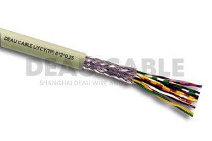 LiYCY(TP) 8*2*0.25 双绞屏蔽数据电缆