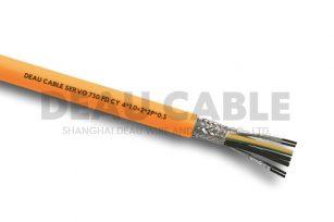 SERVO 730 FD CY 移动安装伺服屏蔽电缆4×1.0+2X2PX0.3