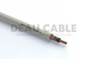 中度柔性单芯带屏蔽电缆 TRVVP 1*16