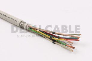 中度柔性双绞屏蔽电缆 TRVVSP 4*2*0.5