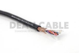 中度柔性双绞屏蔽电缆TRVVSP 3*2*0.3