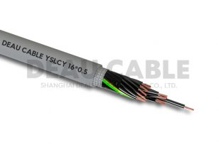 YSLCY 16*0.5 伺服耐油屏蔽电缆