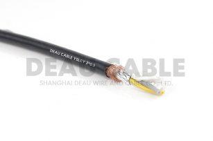 YSLCY 2*0.5 伺服耐油屏蔽电缆