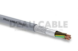 YSLCY 4*4.0 伺服耐油屏蔽电缆