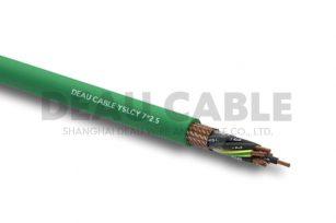YSLCY 7*2.5 伺服耐油屏蔽电缆