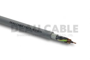 YSLCY 7*0.75 伺服耐油屏蔽电缆