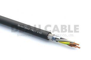YSLCY 4*1.5 伺服耐油屏蔽电缆