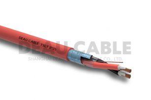 YSLY 2*25 欧标耐油软电缆