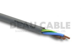 YSLY 3*4.0 欧标耐油软电缆