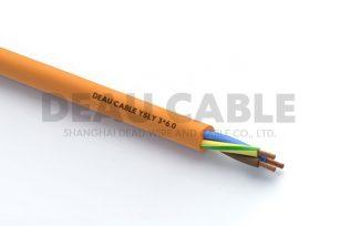 YSLY 3*6.0 欧标耐油软电缆