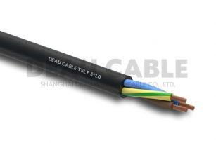 YSLY 3*10 欧标耐油软电缆