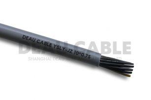 YSLY 10*0.75 欧标耐油软电缆