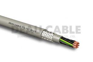 YSLYCY 10*2.0 双护套伺服耐油屏蔽电缆