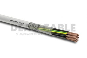 YSLYCY 12*0.5 双护套伺服耐油屏蔽电缆