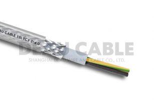 YSLYCY 2*4.0 双护套伺服耐油屏蔽电缆