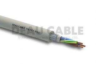 YSLYCY 3*1.0 双护套伺服耐油屏蔽电缆