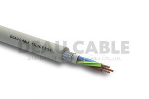 YSLYCY 3*1.5 双护套伺服耐油屏蔽电缆
