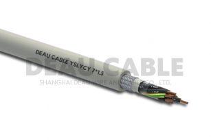 YSLYCY 7*1.5 双护套伺服耐油屏蔽电缆