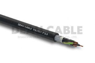 YSLYCY 7*2.5 双护套伺服耐油屏蔽电缆